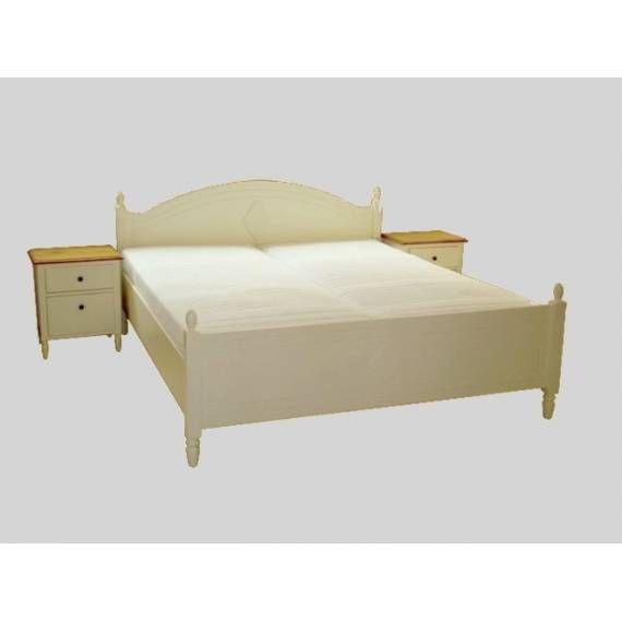 Dřevěná postel BLOND