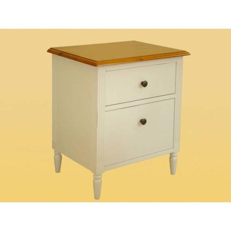 Dřevěný noční stolek BLOND