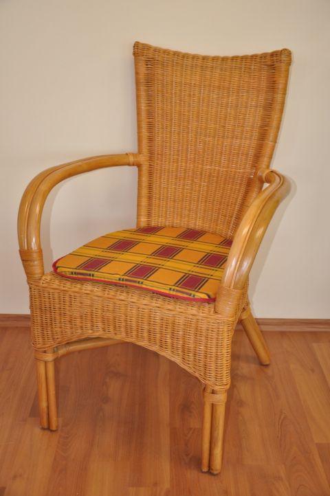 Ratanová židle WANUTA medová