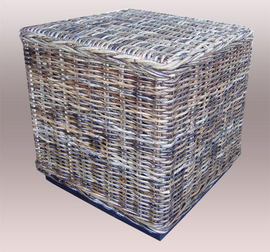 Ratanový stolek TONDANO KUBUS sarang 60x60 cm