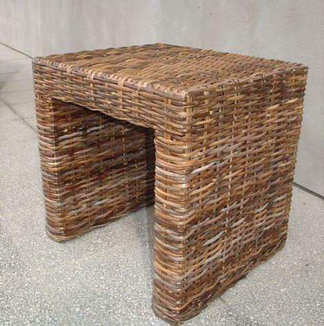 Ratanový stolek PANDORA sarang 40x46cm
