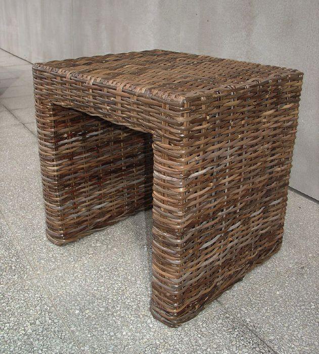 Ratanový stolek PANDORA sarang  60x60cm