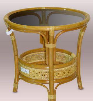Ratanový stolek PETANI