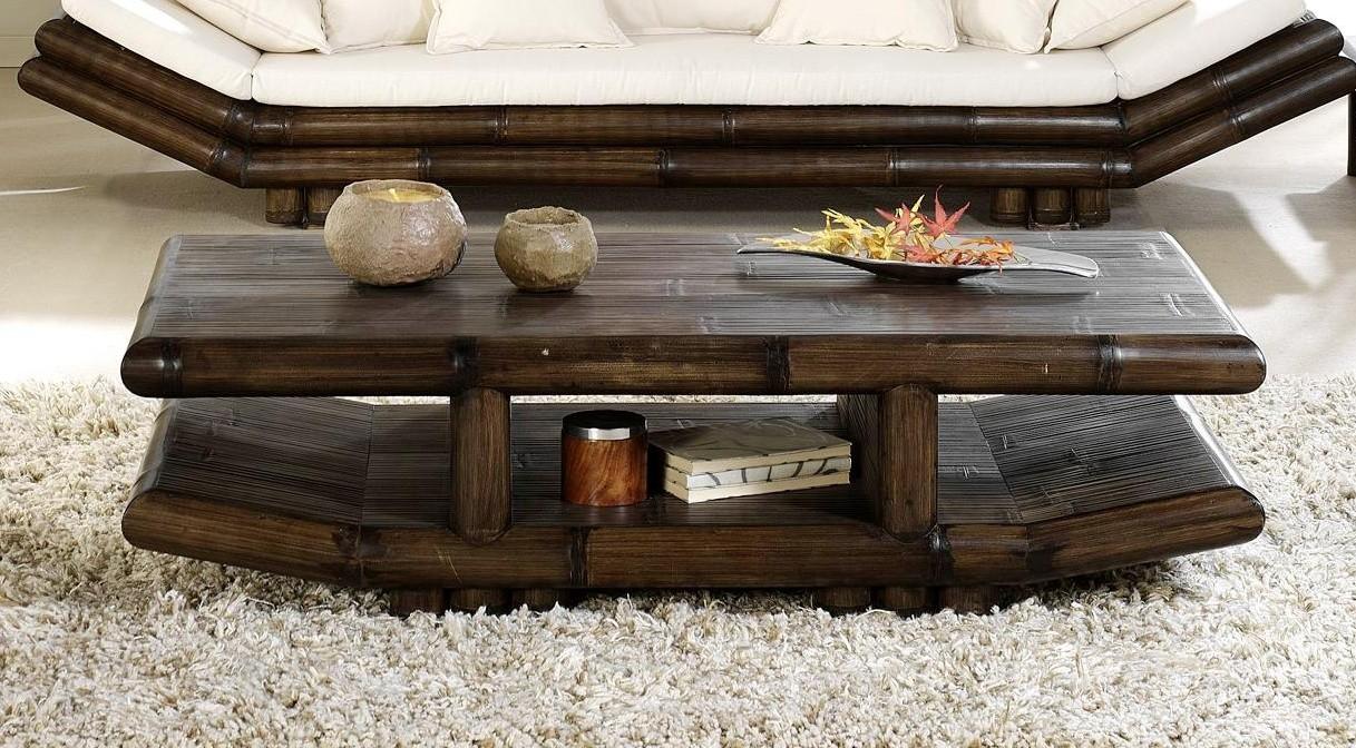 Bambusový stolek TAO obdélník