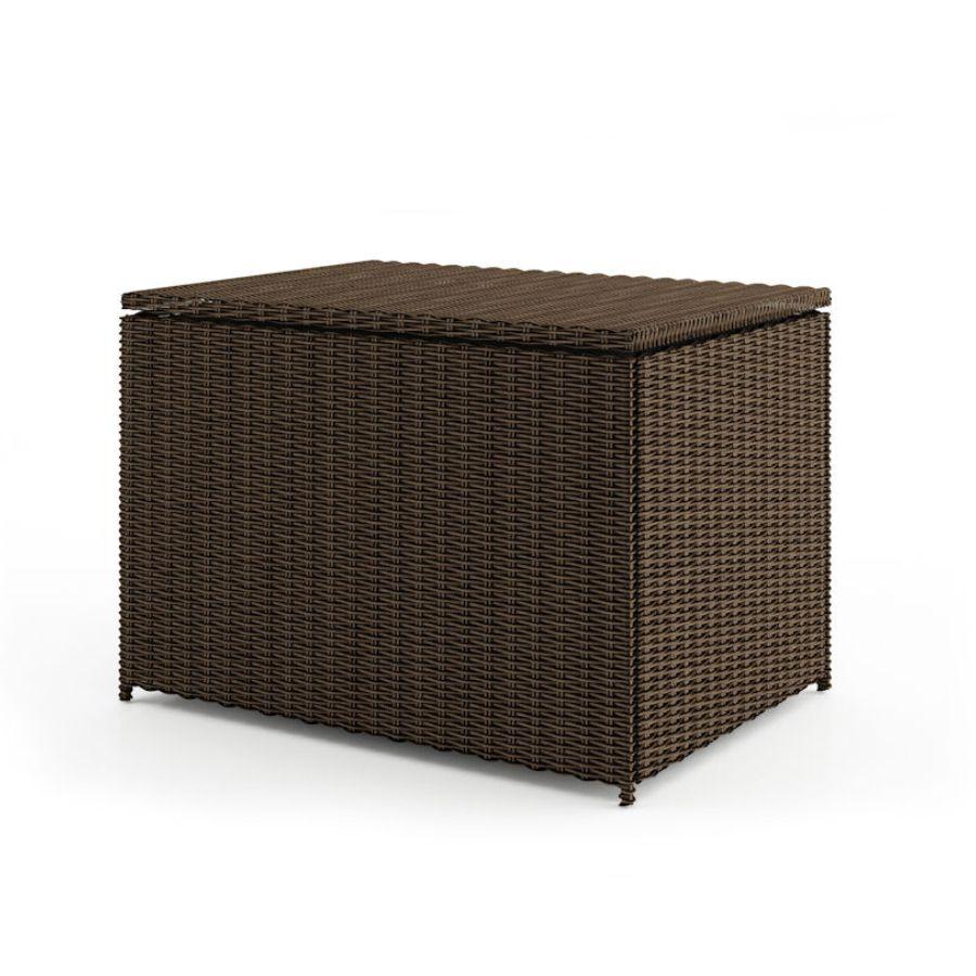 Ratanový úložný box - truhla SCATOLA 100 umělý ratan