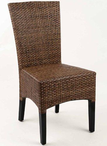Ratanová židle LASIO COKLAT vysoká