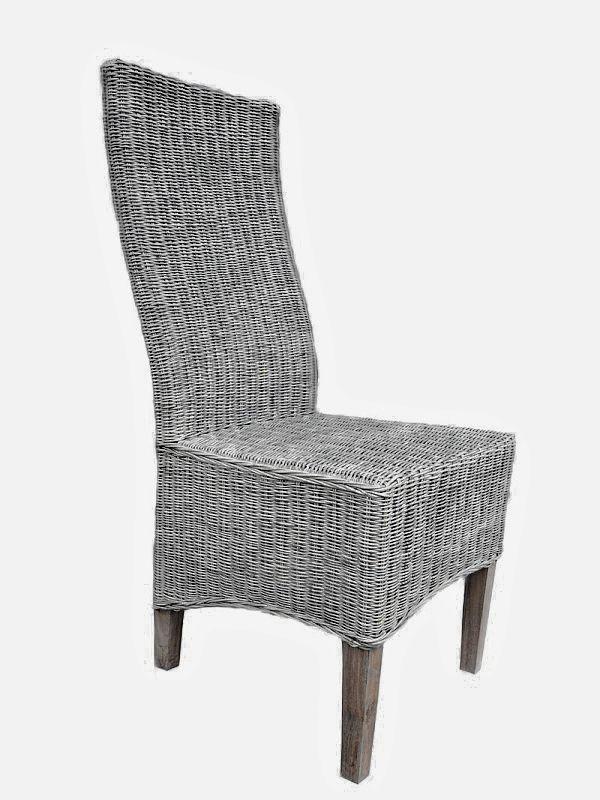 Ratanová židle SALSA slimit grey