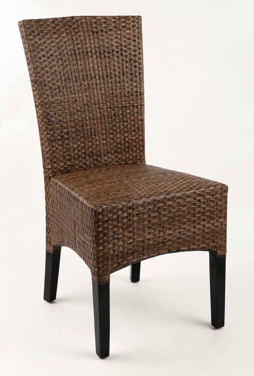 Židle LASIO coklat nízké opěradlo