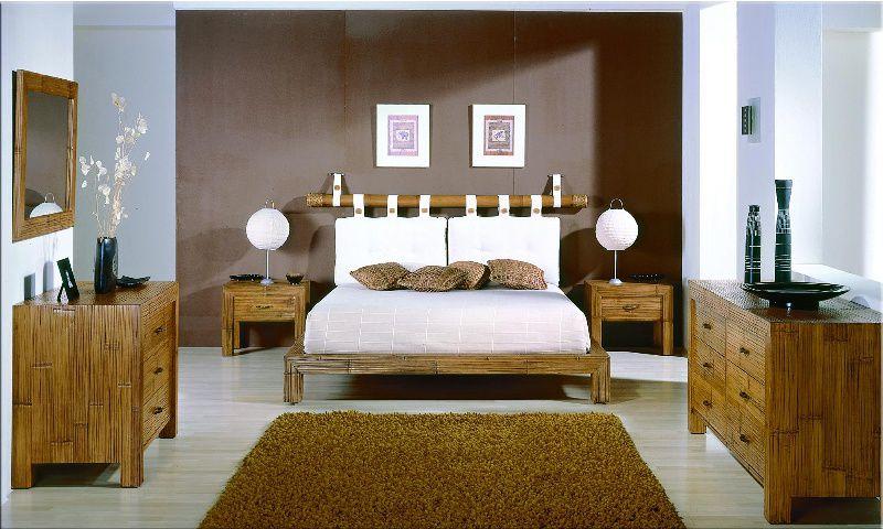 Bambusová ložnice ESSENTIAL