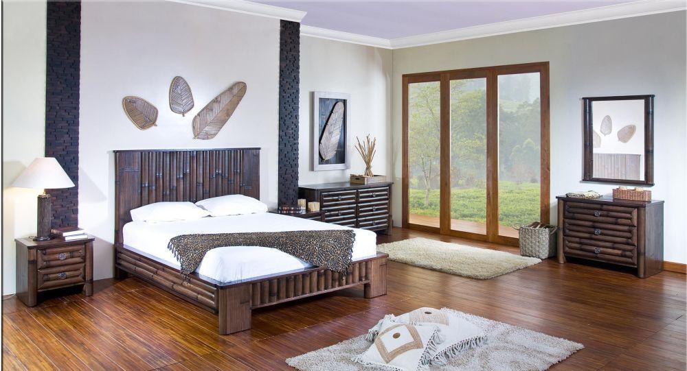 Bambusová ložnice OASIS