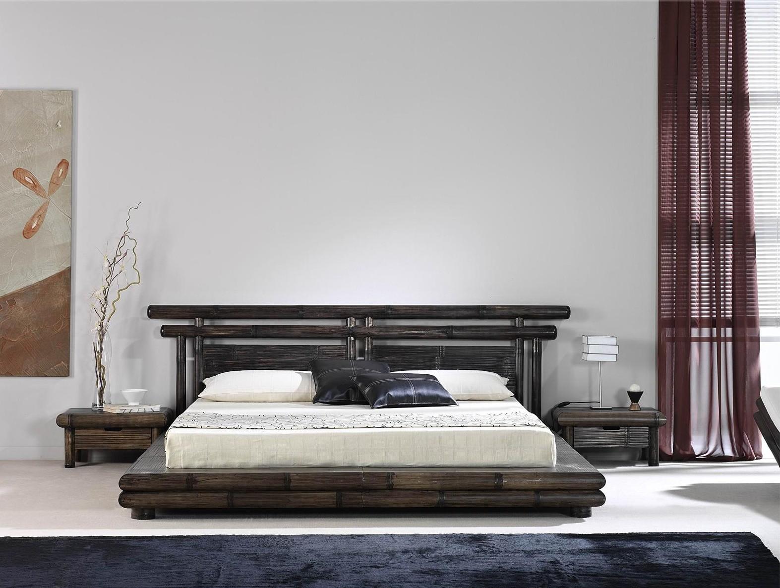 Bambusová postel TAO