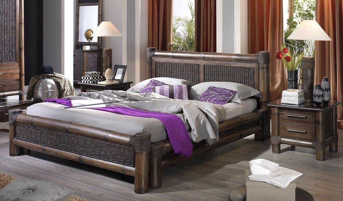Bambusová postel TROPICANA