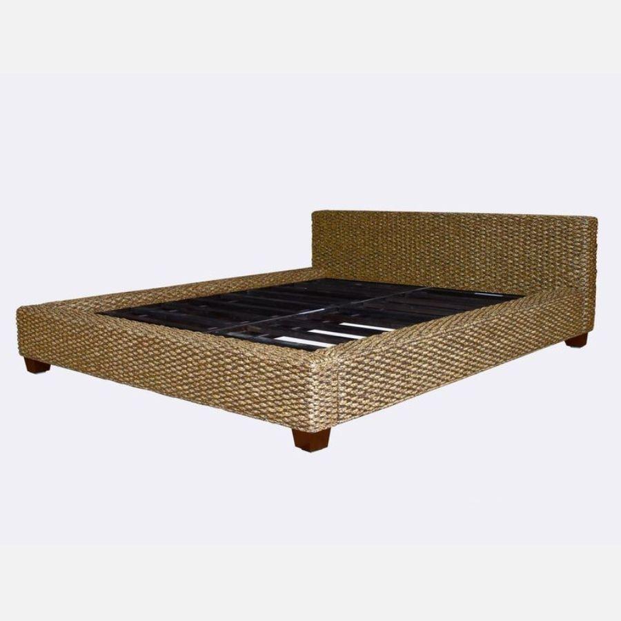Ratanová postel DIMA 160 hyacint kepang natur