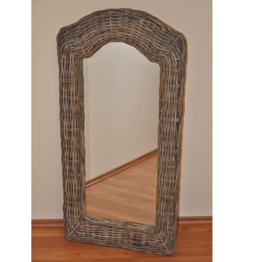 Zrcadlo KUBU GREY vysoké