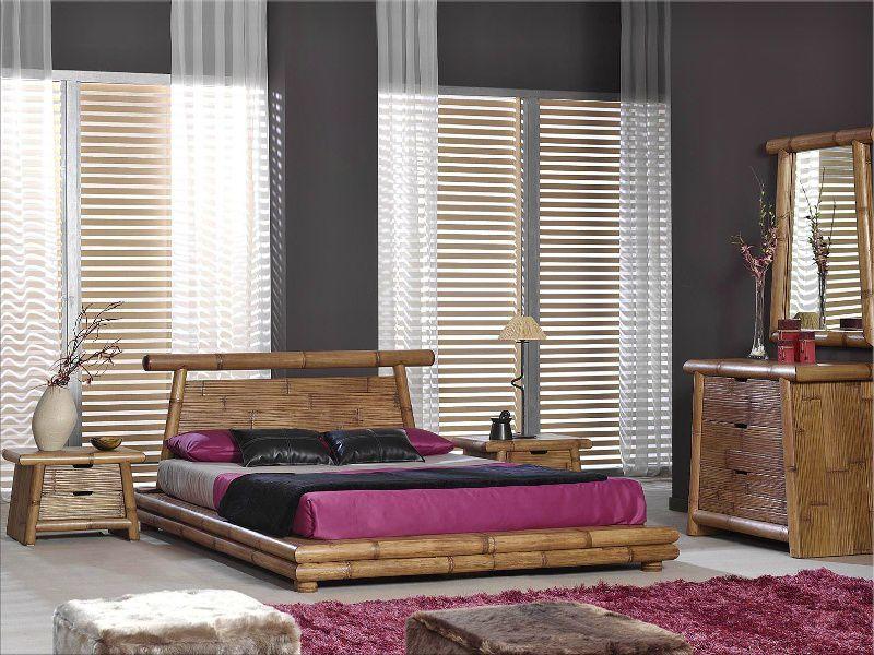 Bambusová ložnice MEXIKO