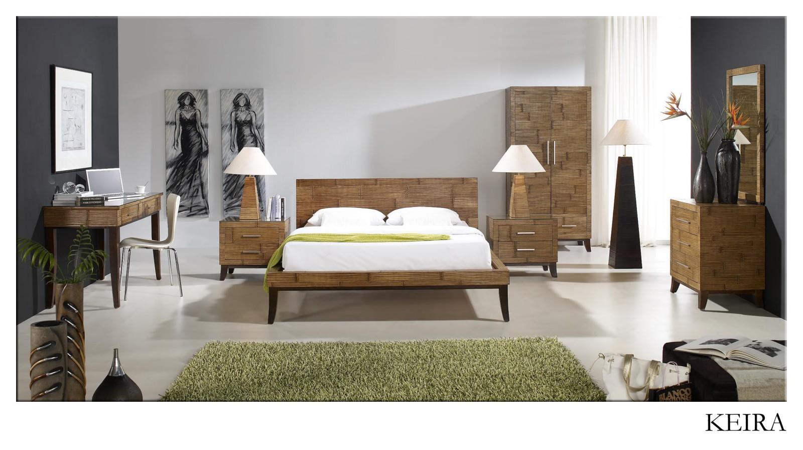 Bambusová ložnice KEIRA