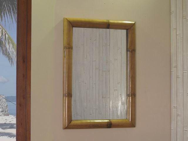 Bambusové zrcadlo TAO H