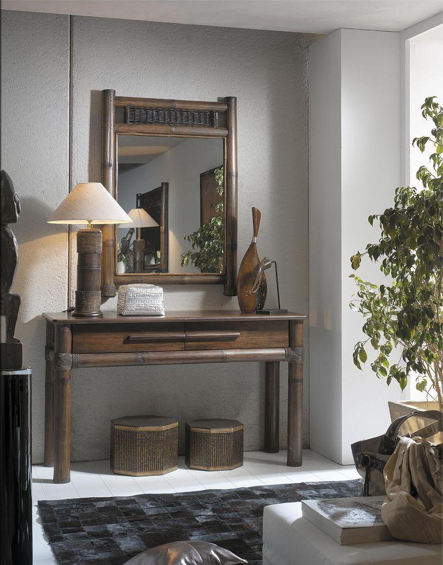 Toaletní stolek TROPICANA se zrcadlem