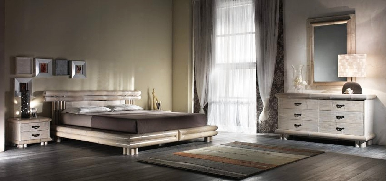 Bambusová ložnice TSU