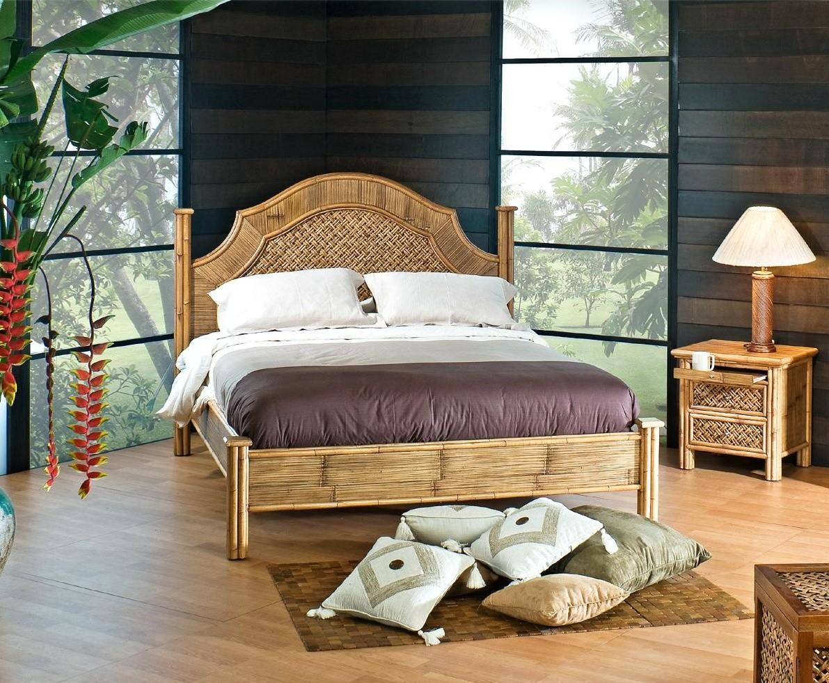 Ratanová postel RINOA