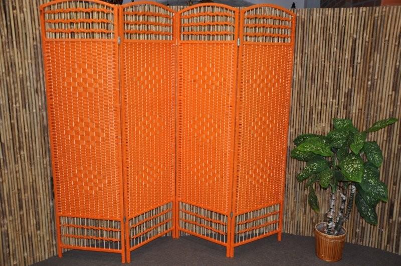 Paravan DAKOTA provázkový barva oranžová