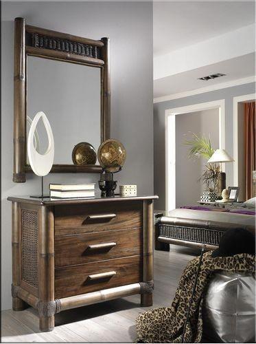 Prádelník TROPICANA 3 se zrcadlem