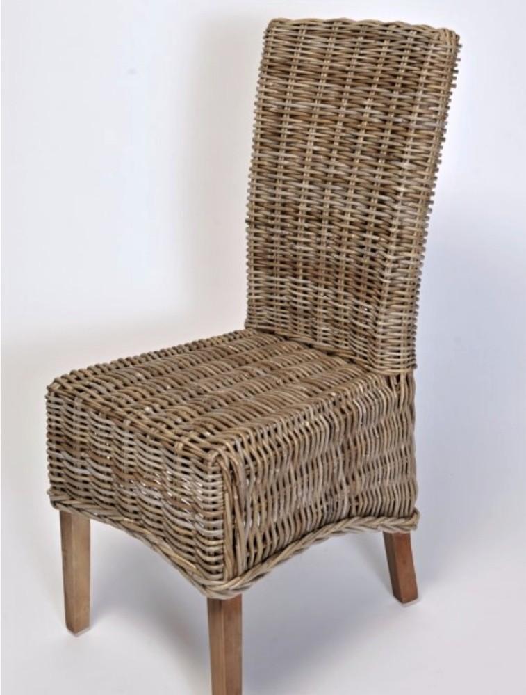 Ratanová židle MONTANA kubu grey