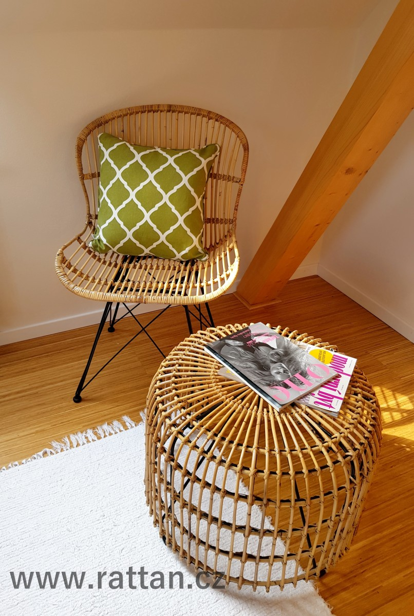 Ratanová židle ARLES natur