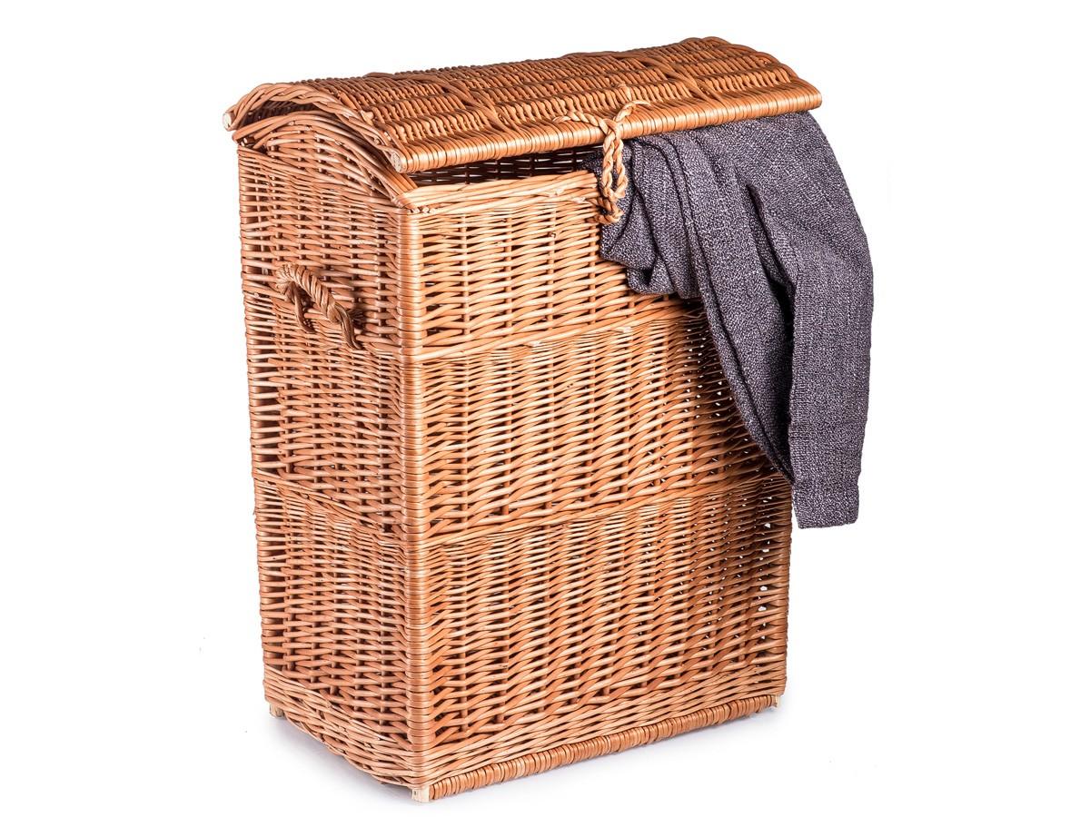 Proutěný koš na prádlo EMMA V