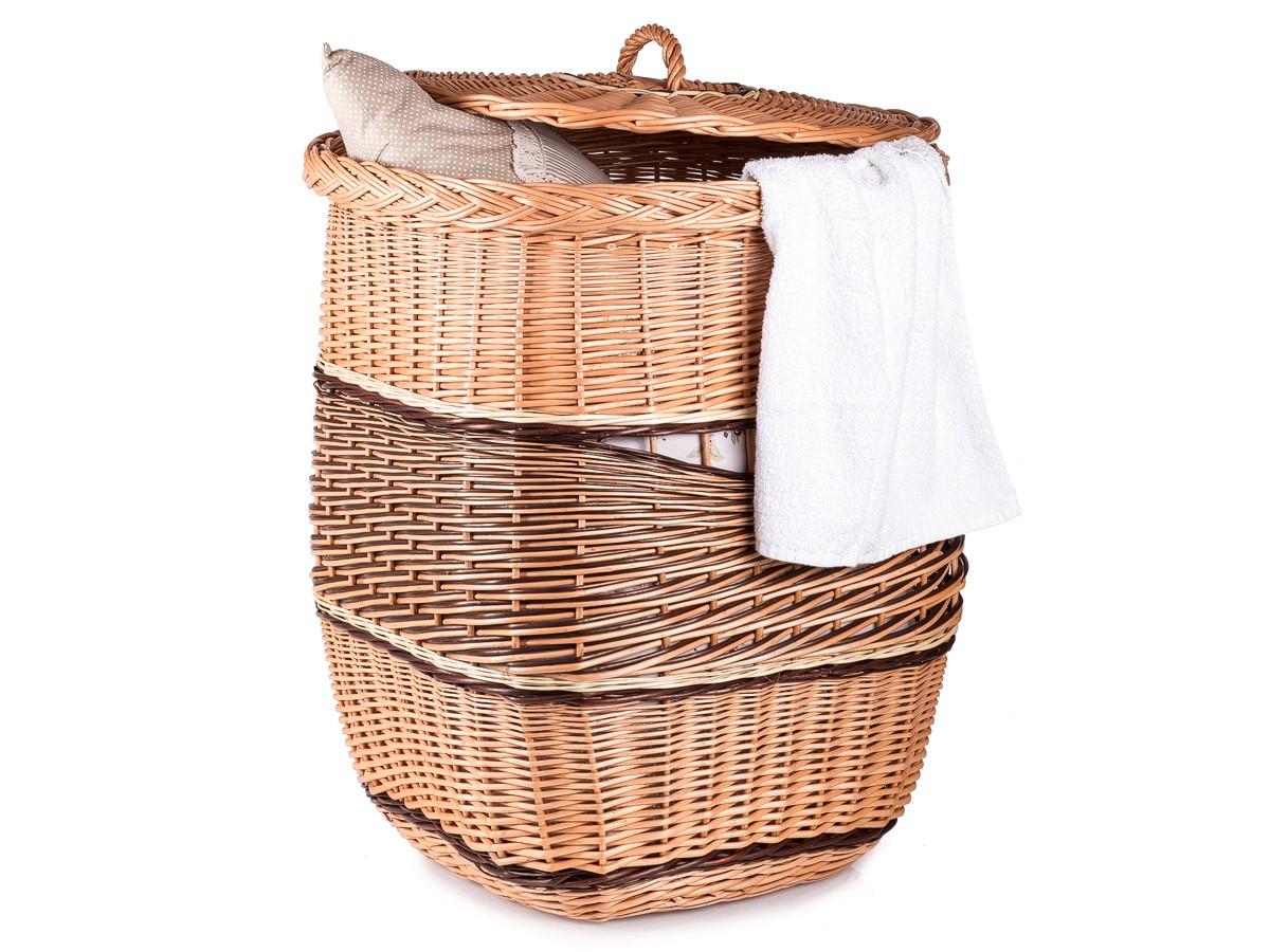Proutěný koš na prádlo SARAH M