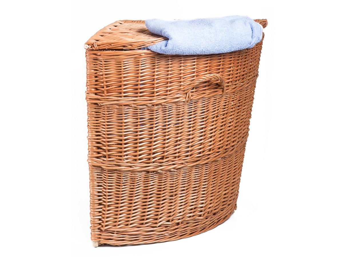 Proutěný koš na prádlo ANNA V