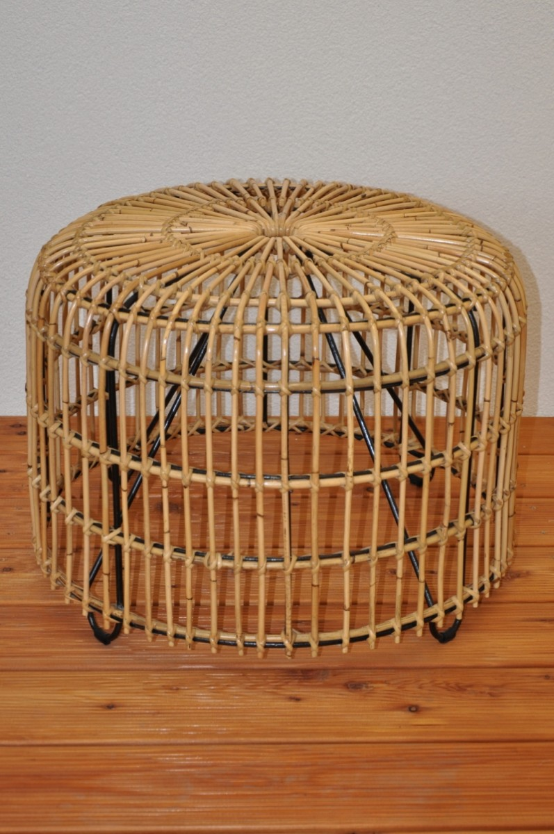 Ratanový stolek ARLES natur