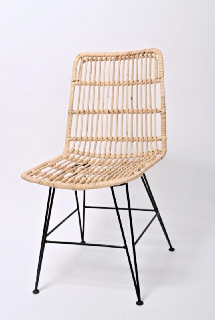 Ratanová jídelní židle CHARLOTE natur